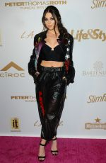 KIRA KOSARIN at Pre-Grammys Party Presented by OK! in Los Angeles 02/07/2019