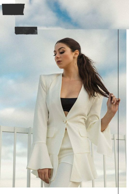 KIRA KOSARIN in Naked Magazine, February 2019