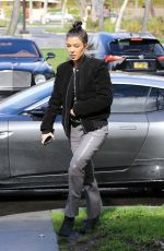 KOURTNEY KARDASHIAN Out for Lunch in Los Angeles 02/04/2019