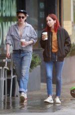 KRISTEN STEWART and SARA DINKIN Out in Los Feliz 01/31/2019