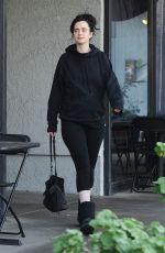 KRYSTEN RITTER Leaves Pilates Class in Hollywood 02/26/2019