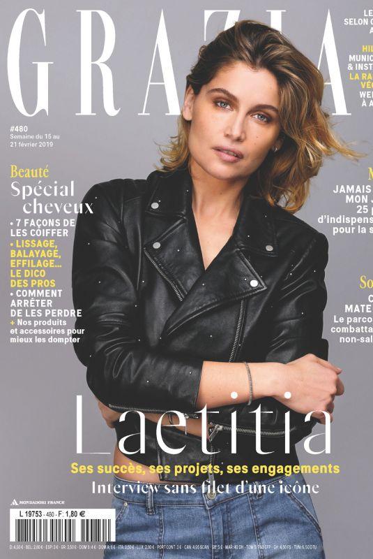LAETITIA CASTA in Grazia Magazine, France February 2019