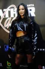 LAIS RIBEIRO at 2019 Super Bowl Leather & Laces Party in Atlanta 02/01/2019