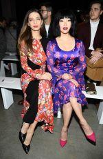 LANA CONDOR at Prabal Gurung Fashion Show in New York 02/10/2019