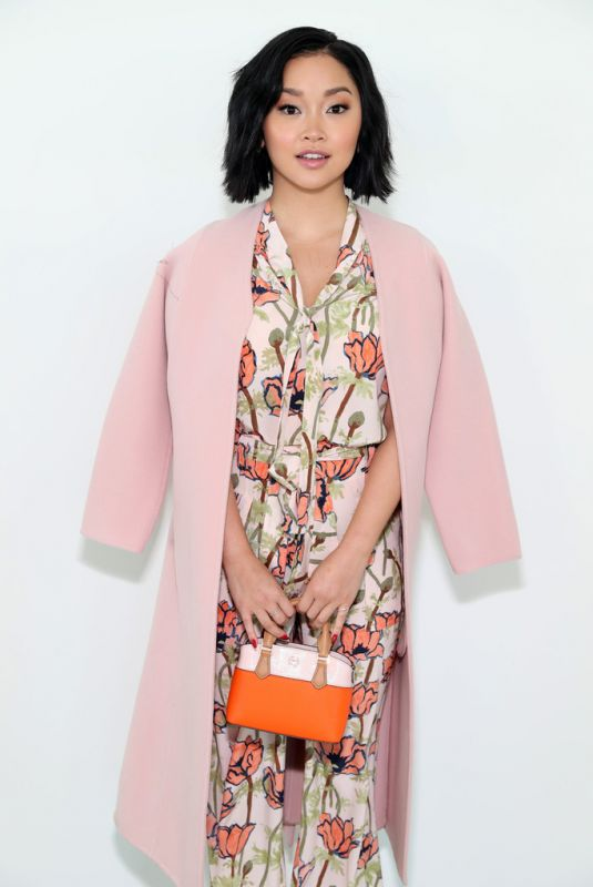 LANA CONDOR at Tory Burch Show at New York Fashion Week 02/10/2019
