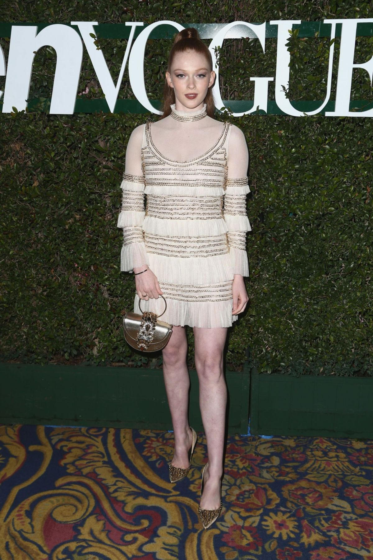 d1d75adb3c3e20 LARSEN THOMPSON at Teen Vogue Young Hollywood Party in Los Angeles  02 15 2019