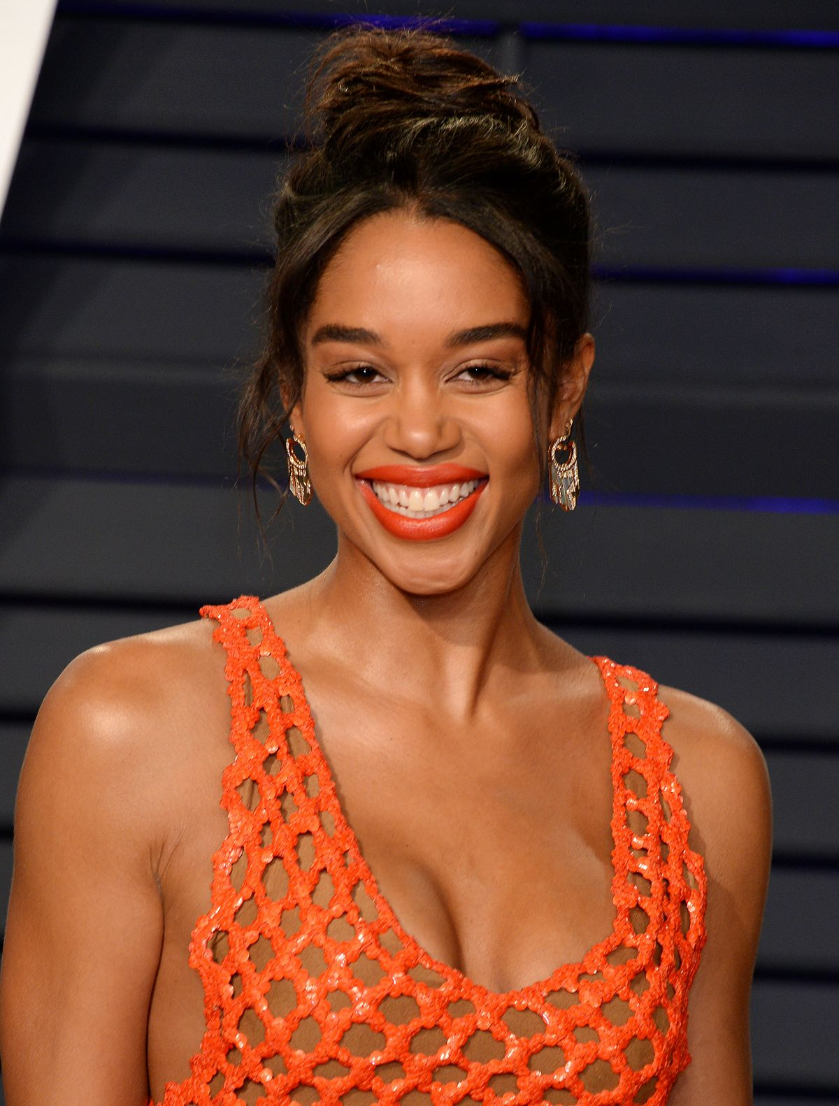 LAURA HARRIER at Vanity Fair Oscar Party in Beverly Hills