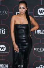LAUREN LONDON at Warner Music's Pre-Grammys Party in Los Angeles 02/07/2019