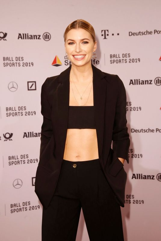 LENA GERCKE at 2019 Ball Des Sports 02/02/2019