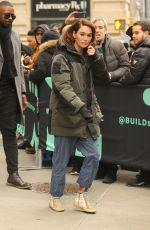 LENA HEADEY Out in New York 02/11/2019