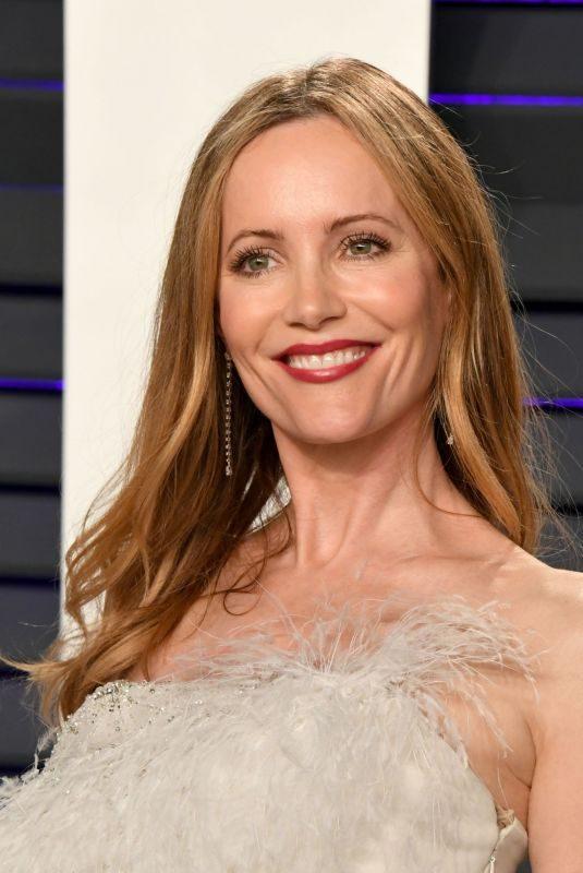 LESLIE MANN at Vanity Fair Oscar Party in Beverly Hills 02/24/2019