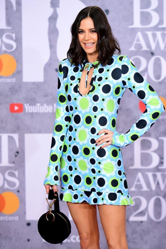 LILAH PARSONS at Brit Awards 2019 in London 02/20/2019