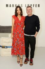 LILAH PARSONS at Markus Lupfer Fashion Show in London 02/16/2019