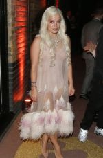 LILY ALLEN at Brit Awards Party in London 02/20/2019