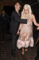 LILY ALLEN at Chiltern Firehouse in London 02/20/2019