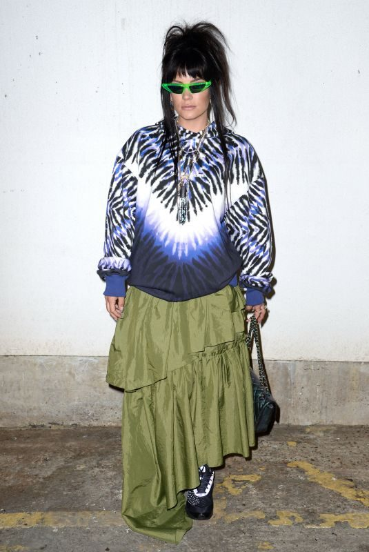 LILY ALLEN at House of Holland Fashion Show in London 02/16/2019