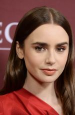 LILY COLLINS at Les Miserables Panel at Winter TCA Tour in Los Angeles 02/01/2019