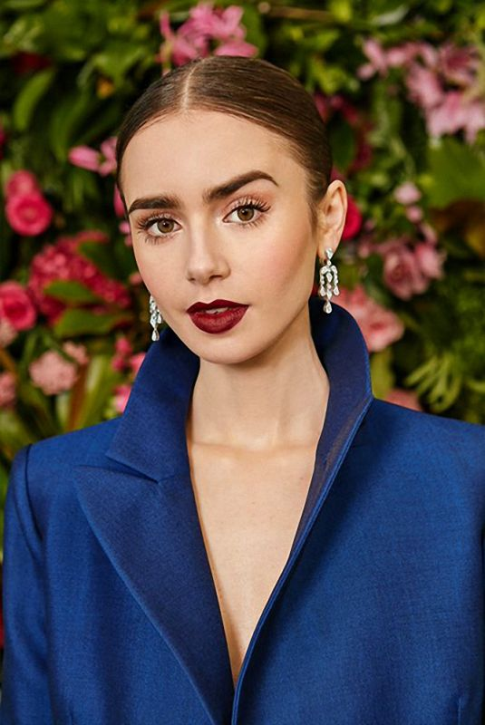 LILY COLLINS for Vogue Magazine, UK February 2019