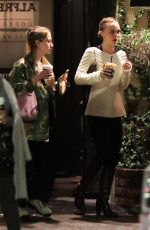 LILY-ROSE DEPP at Alfred Coffee in West Hollywood 02/02/2019