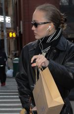 LILY-ROSE DEPP Out Shopping in New York 02/10/2019