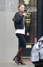 LILY-ROSE DEPP Shopping at Recess in Los Angeles 02/02/2019