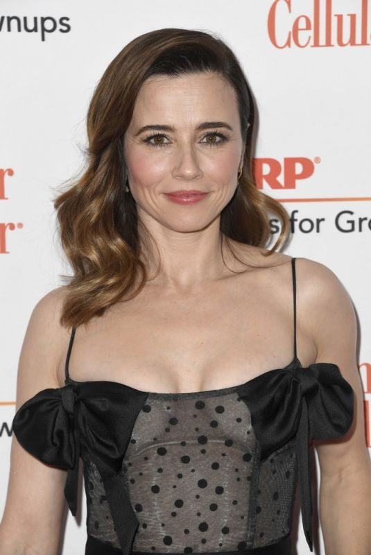 LINDA CARDELLINI at Aarp the Magazine's Movies for Grownups Awards in Beverly Hills 02/04/2019