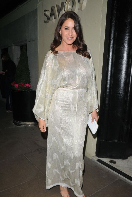 LISA SNOWDON at 2nd Annual Gala Party at Savoy Hotel in London 02/26/2019