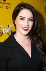 LUCIE JONES at 9 to 5 the Musical Gala in London 02/17/2019