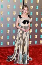 LUCY BOYNTON at Bafta Awards 2019 in London 02/10/2019