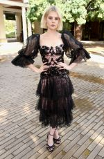 LUCY BOYNTON at Rodarte Fashion Show in San Marino 02/05/2019