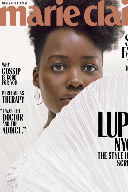 LUPITA NYONG'O for Marie Claire Magazine, March 2019