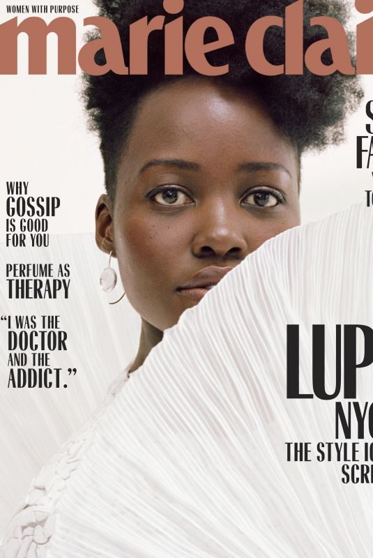 LUPITA NYONG'O in Marie Claire Magazine, March 2019