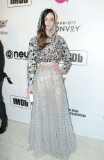 LYDIA HEARST at Elton John Aids Foundation Oscar Party in Hollywood 02/24/2019