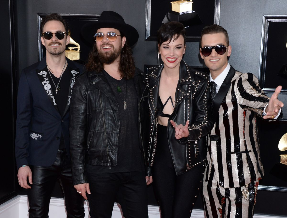 2019 61st Grammy Awards: LZZY HALE At 61st Annual Grammy Awards In Los Angeles 02