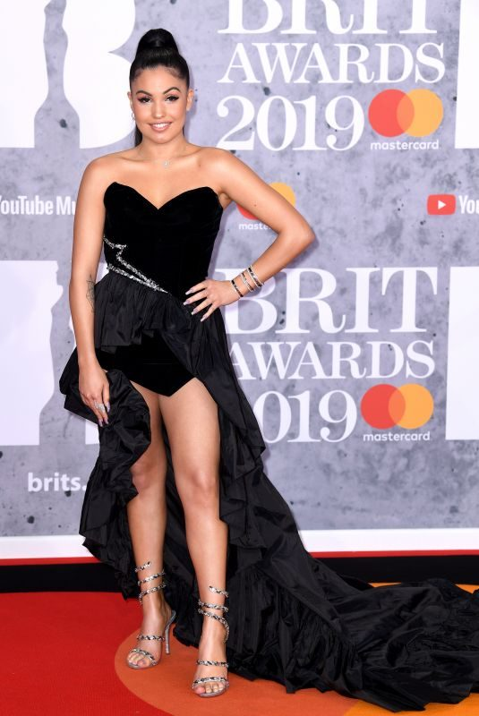 MABEL MCVEY at Brit Awards 2019 in London 02/20/2019