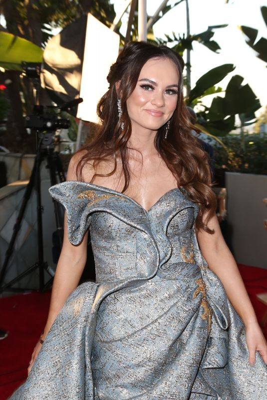 MADELINE CARROLL at Movieguide Awards 2019 in Los Angeles 02/08/2019
