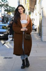 MADISON BEER Out Shopping in Beverly Hills 02/11/2019
