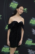 MADISON HU at Kim Possible Premiere in Los Angeles 02/12/2019