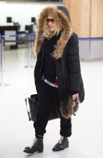 MADONNA at JFK Airport in New York 02/01/2019