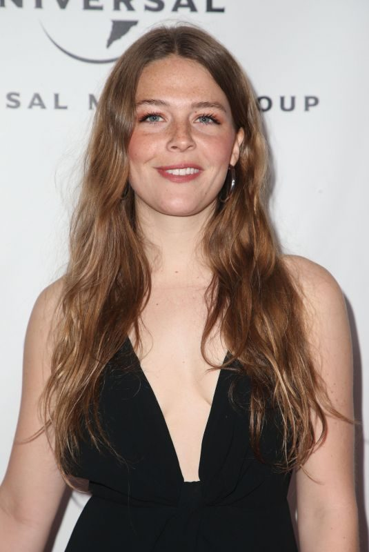MAGGIE ROGERS at Universal Music Group Grammy After-party in Los Angeles 02/10/2019