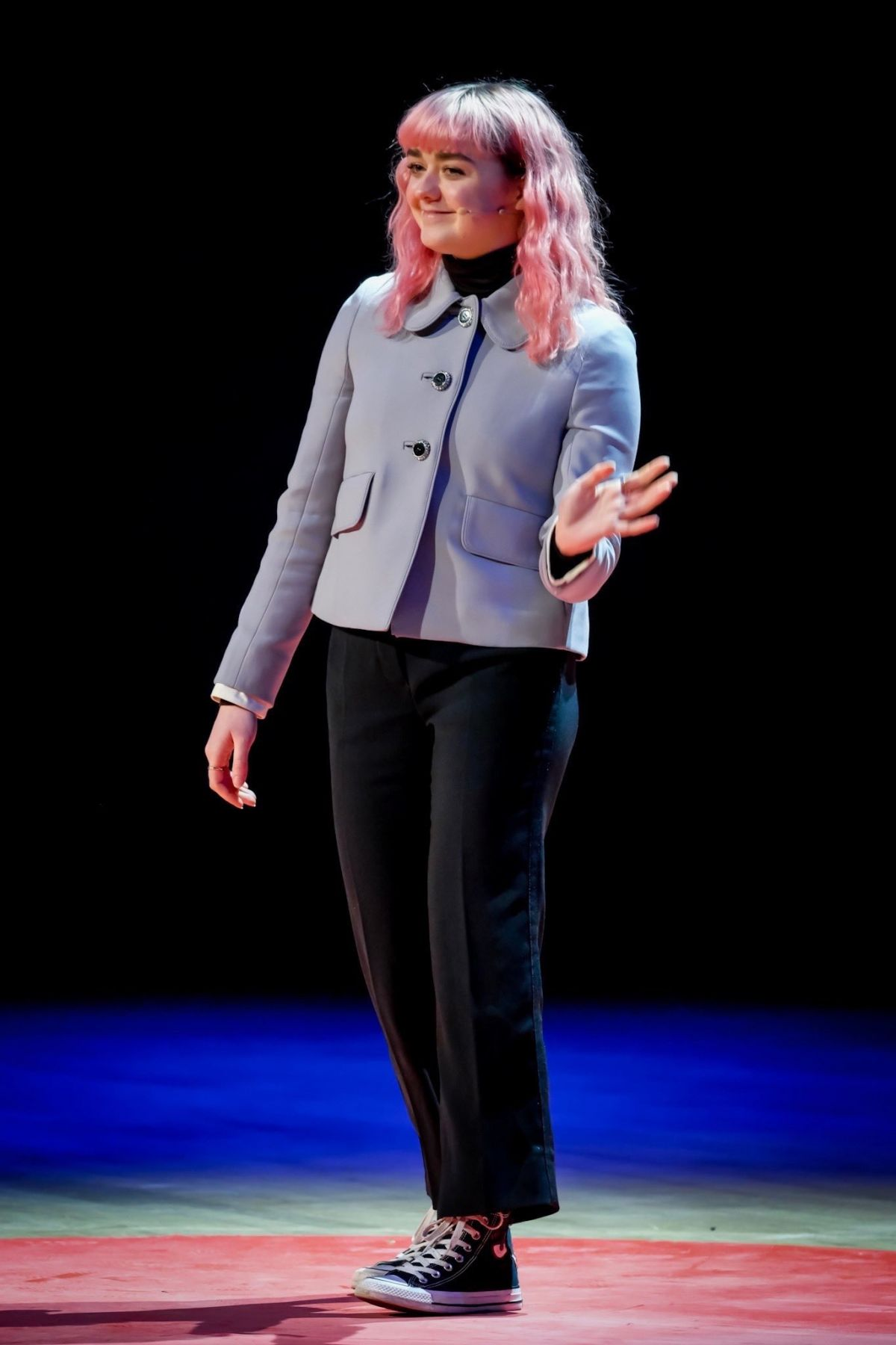Maisie Williams At Tedx In Manchester 02 03 2019 Hawtcelebs