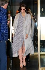 MANDY MOORE Leaves Today Show in New York 02/04/2019
