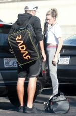 MARGOT ROBBIE Arrives at a Gym in Los Angeles 02/12/2019