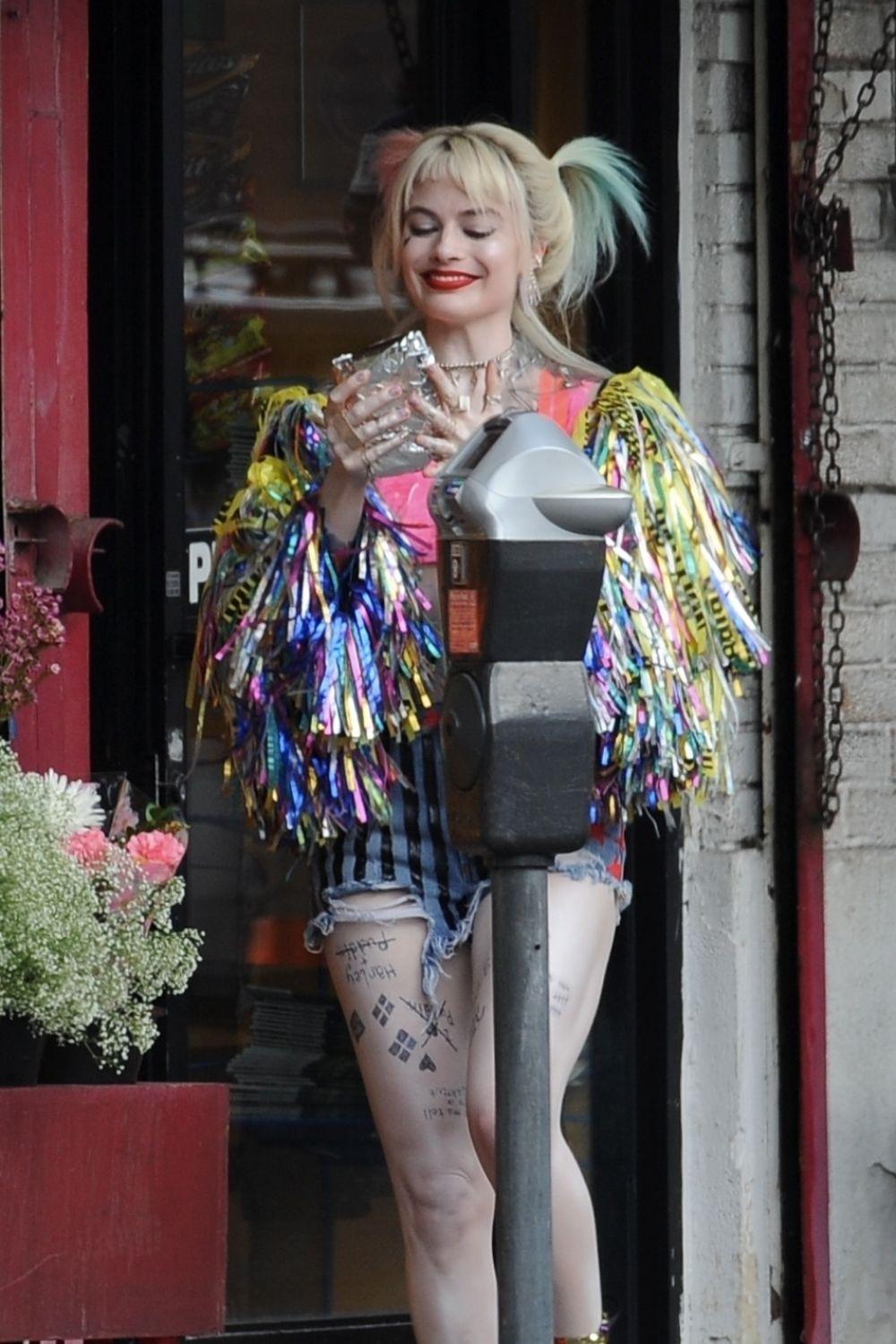 Margot Robbie As Harley Quinn In Birds Of Prey In Los Angeles 02 01 2019 Hawtcelebs