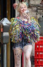 MARGOT ROBBIE as Harley Quinn in Birds of Prey in Los Angeles 02/01/2019