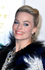 MARGOT ROBBIE at Bafta Awards 2019 in London 02/10/2019