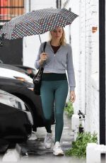 MARGOT ROBBIE Heading to a Gym in Los Angeles 02/03/2019