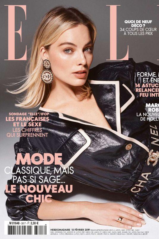 MARGOT ROBBIE in Elle Magazine, France February 2019