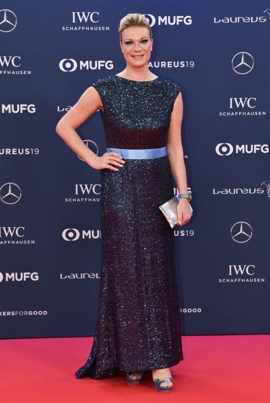 MARIA HOFL-RIESCH at 2019 Laureus World Sports Awards in Monaco 02/18/2019