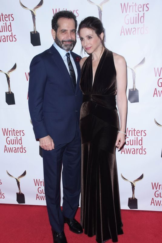 MARIN HINKLE at Writers Guild Awards in Los Angles 02/17/2019